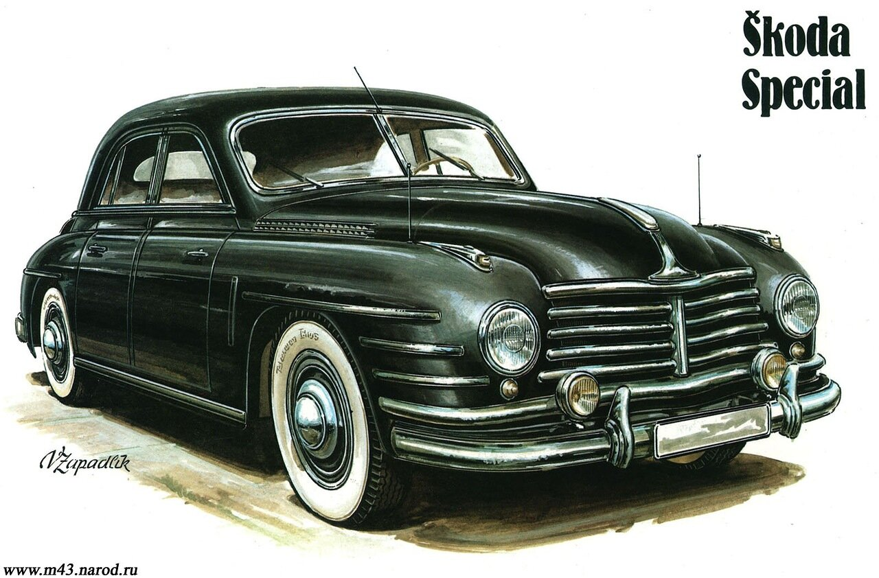 1950. Skoda Special