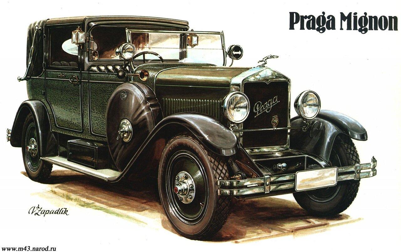 1927. Praga Mignon