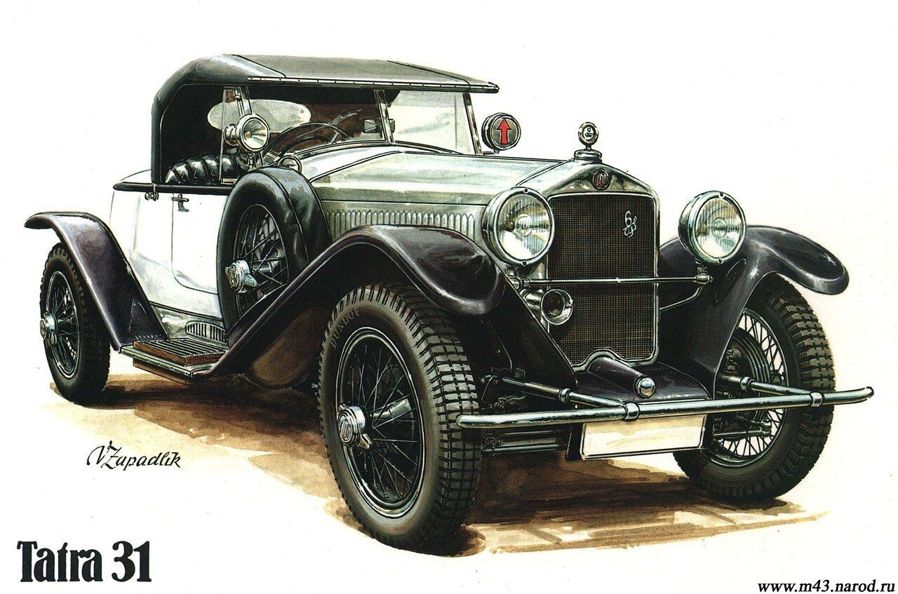 1927. Tatra 31