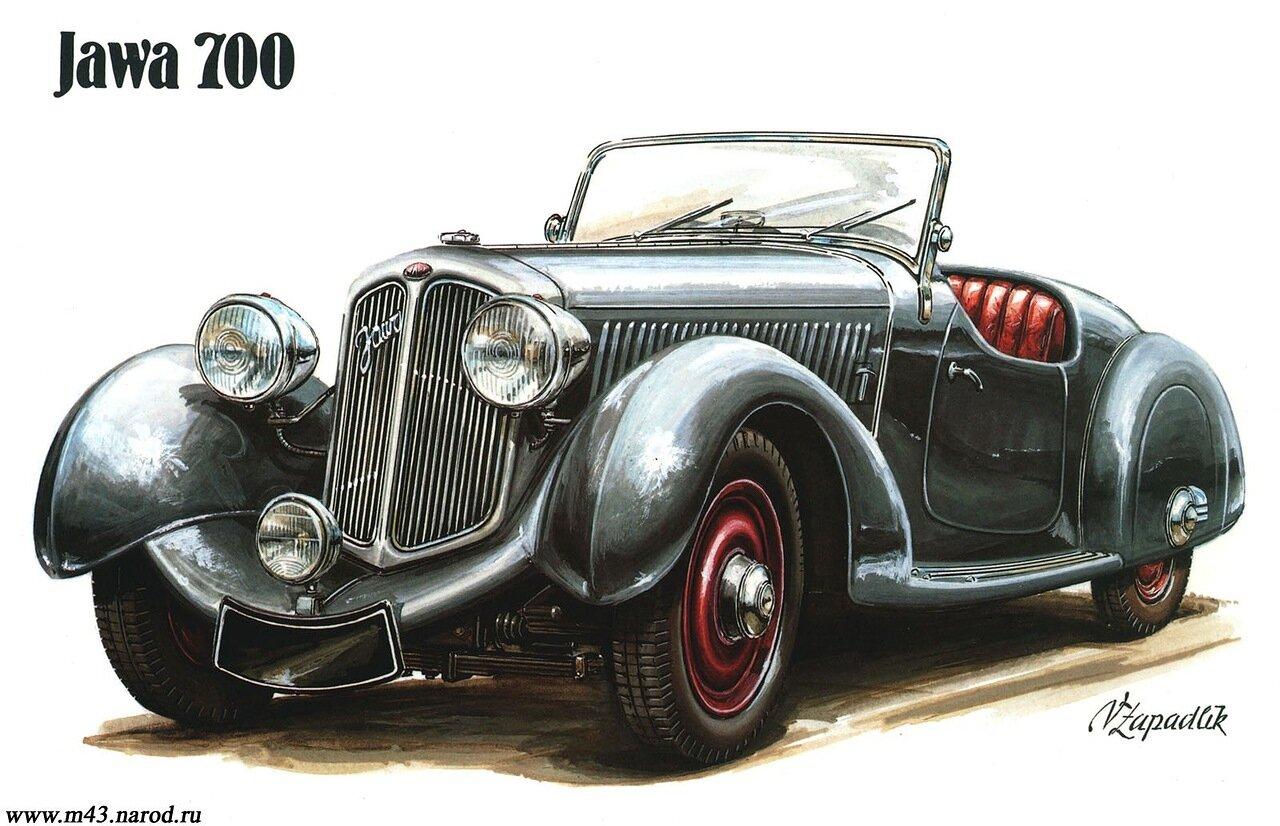 1934. Jawa 700