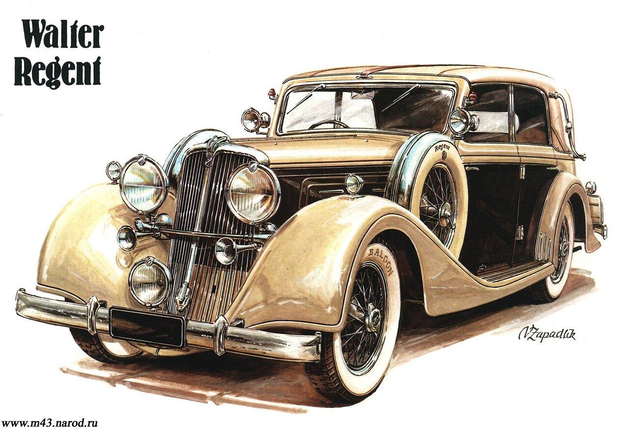 1933. Walter Regent