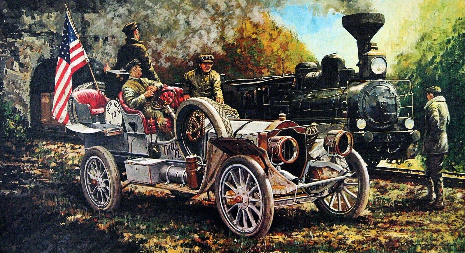 1907. Thomas. Illustrated by James B. Deneen