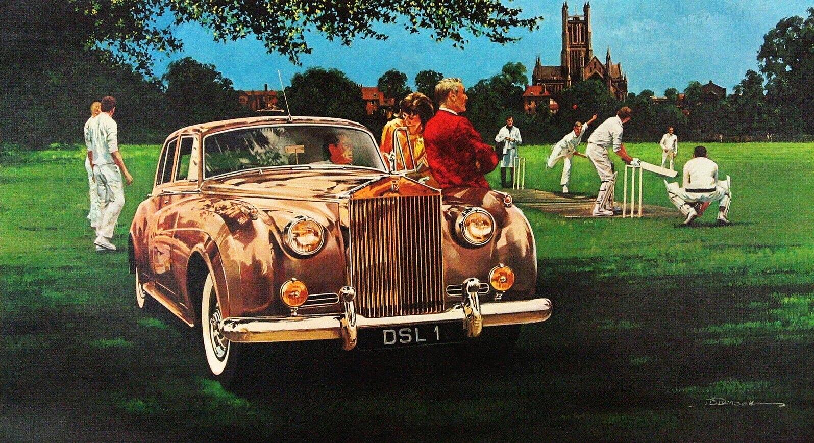 1962. Rolls-Royce Silver Cloud II. Illustrated by James B. Deneen
